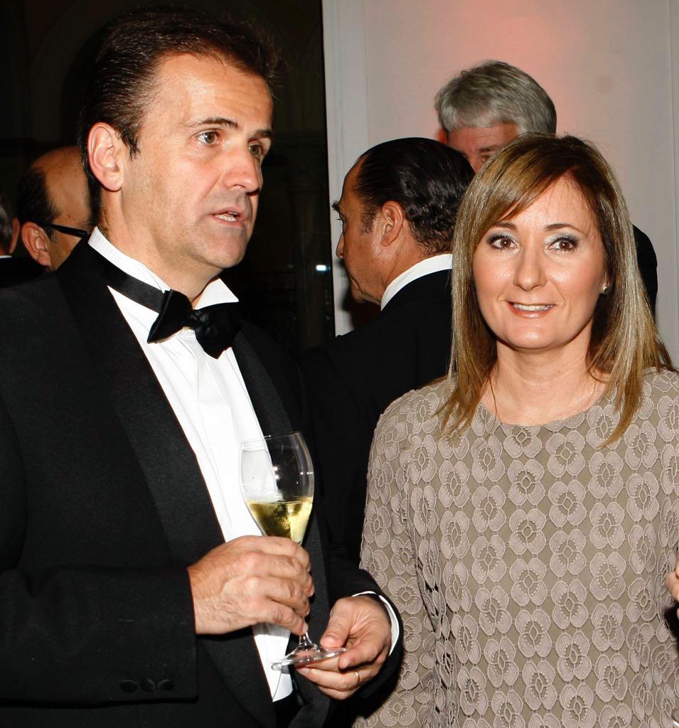 Manuel Erice y Mayte Alcaraz